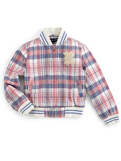 Ralph Lauren - Toddler's & Little Girl's Plaid Baseball Jacket