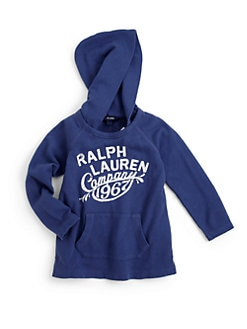 Ralph Lauren - Toddler's & Little Girl's Slouchy Hoodie