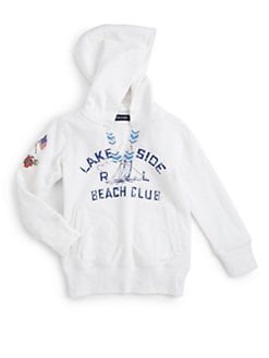 Ralph Lauren - Little Girl's Nautical Beaded Hoodie