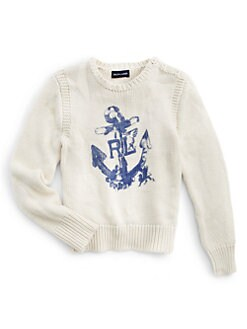 Ralph Lauren - Girl's Anchor Sweater