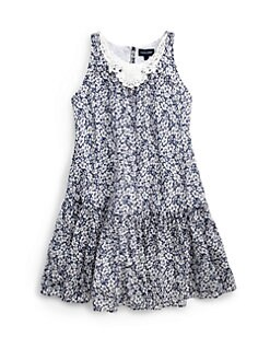 Ralph Lauren - Girl's Crochet Floral Dress