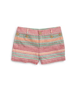 Ralph Lauren - Girl's Nautical Striped Shorts