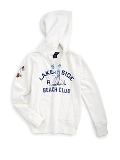Ralph Lauren - Girl's Nautical Pullover Hoodie