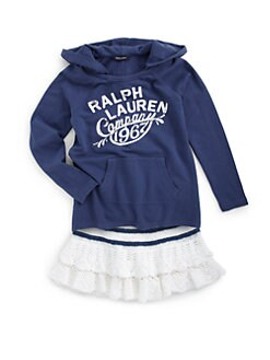 Ralph Lauren - Girl's Cotton Hoodie