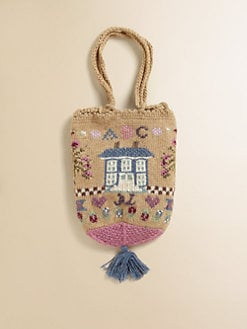 Ralph Lauren - Girl's Embrodiered Coin Bag