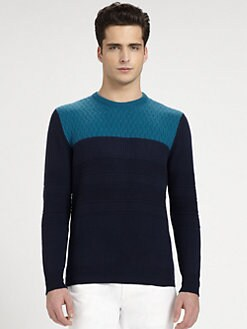 Salvatore Ferragamo - Textured Sweater