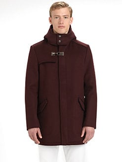Salvatore Ferragamo - Hooded Toggle Jacket