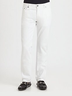 Salvatore Ferragamo - Five-Pocket Pants