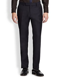 Salvatore Ferragamo - Wool and Mohair Trousers