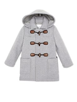 Gucci - Little Boy's Montgomery Wool & Cashmere Coat