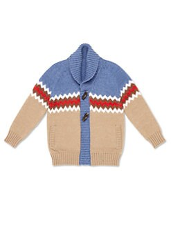 Gucci - Boy's Shawl Collar Cardigan