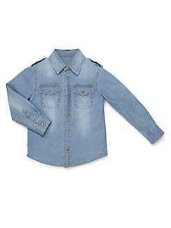 Gucci - Boy's Denim Shirt
