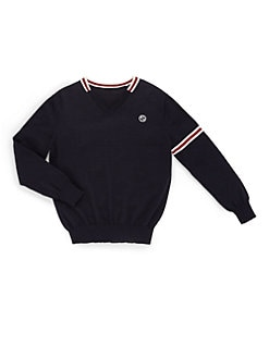 Gucci - Boy's Signature Web Merino Wool Sweater