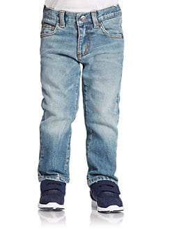 Armani Junior - Toddler's & Little Boy's Light-Washed Jeans