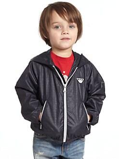 Armani Junior - Toddler's & Little Boy's Logo Jacket