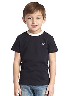 Armani Junior - Toddler's & Little Boy's Contrast Tee