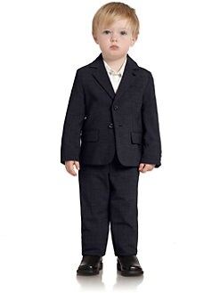 Armani Junior - Toddler's & Little Boy's Two-Piece Wool Suit