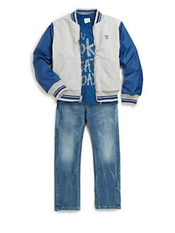Diesel - Little Boy's Reversible Jacket