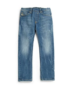 Diesel - Toddler's & Little Boy's Distressed Straight-Leg Jeans