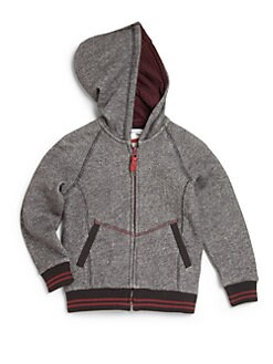 Little Marc Jacobs - Toddler's & Little Boy's Marled Zip-Up Hoodie