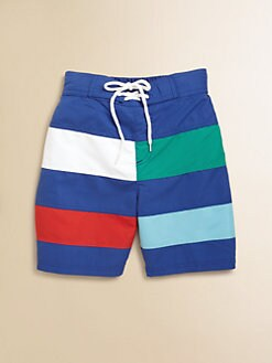 Hartstrings - Toddler's & Little Boy's Colorblock Swim Trunks