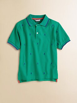 Hartstrings - Toddler's & Little Boy's Skull Polo