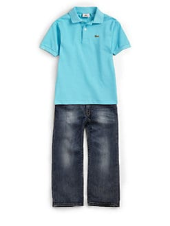 Lacoste - Little Boy's Classic Pique Polo