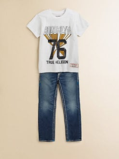 True Religion - Toddler's & Little Boy's Brooklyn Tee
