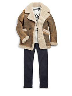 Diesel - Boy's Jollo Faux Shearling Jacket