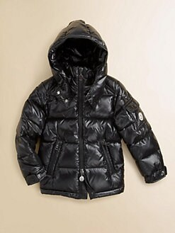 Moncler - Toddler's & Little Boy's Snap Puffer Jacket
