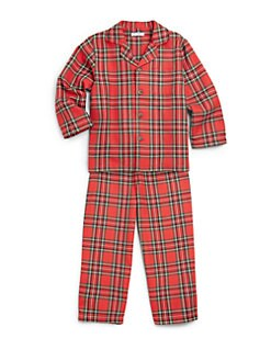 Hartstrings - Toddler's & Little Boy's Two-Piece Plaid Flannel Pajamas
