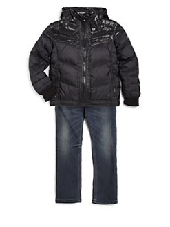 Diesel - Little Boy's Janton Shiny Down Jacket