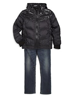 Diesel - Boy's Janton Shiny Down Jacket