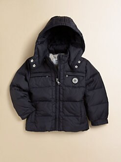 Armani Junior - Toddler & Little Boy's Hooded Puffer Jacket