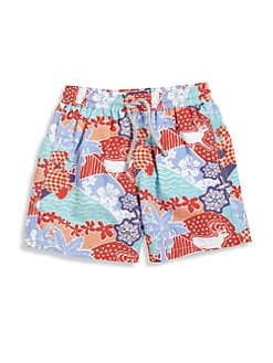 Vilebrequin - Little Boy's Holiday Swim Trunks