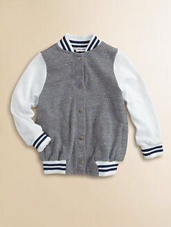 Splendid - Toddler's & Little Boy's Letterman Jacket