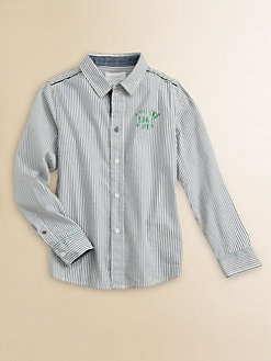 Diesel - Little Boy's Striped Shirt