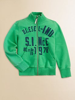 Diesel - Little Boy's Zip Sweatshirt