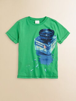 Diesel - Little Boy's Ink Bottle Tee