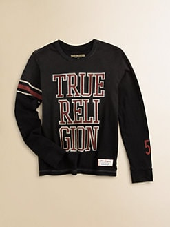 True Religion - Toddler's & Little Boy's Logo Tee