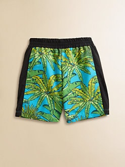 Versace - Toddler's & Little Boy's Tropical Swim Trunks