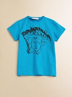 Versace - Toddler's & Little Boy's Medusa Logo Tee