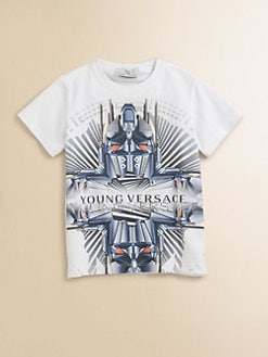 Versace - Toddler's & Little Boy's Tech-Print Tee