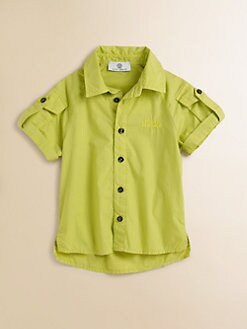 Versace - Toddler's & Little Boy's Roll-Sleeve Shirt