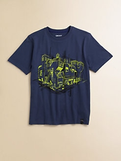 DKNY - Toddler's & Little Boy's Architect Tee