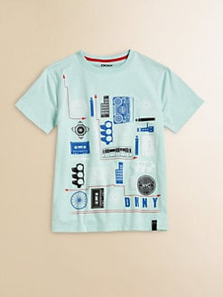 DKNY - Toddler's & Little Boy's City Elements Tee