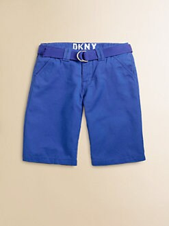 DKNY - Toddler's & Little Boy's Belted Chino Shorts