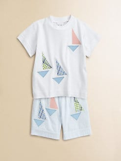 Florence Eiseman - Toddler's & Little Boy Sailboat Tee