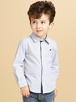 Armani Junior - Toddler's & Little Boy's Striped Shirt