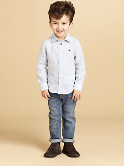 Armani Junior - Toddler's & Little Boy's Five-Pocket Jeans